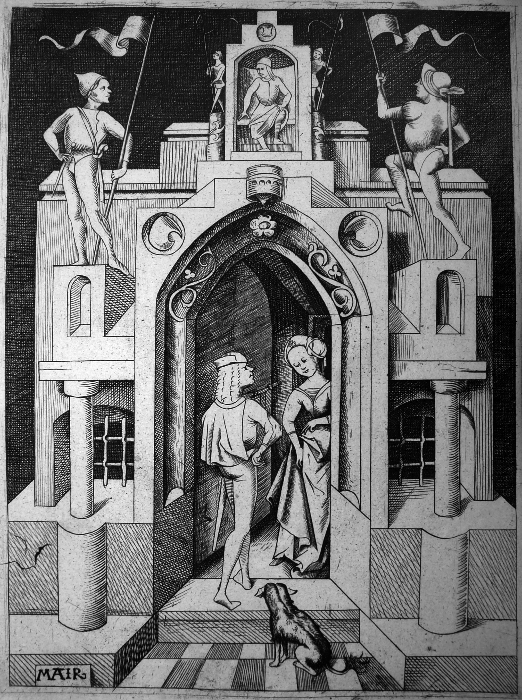 Mair Von Lanschut; La casa gotica