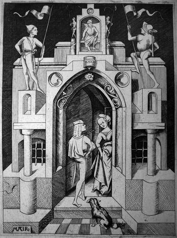 005 Mair Von Lanschut; La casa gotica - 350
