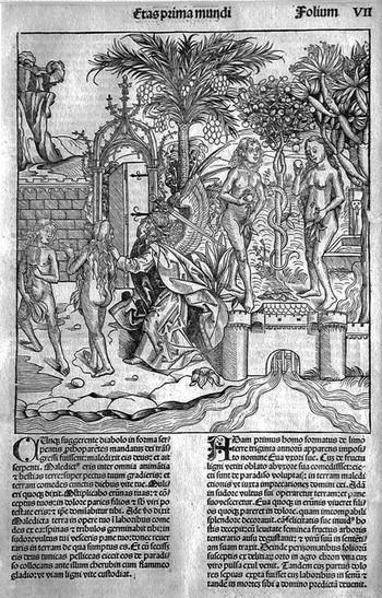 Wohlgemut; Adamo ed Eva - 350