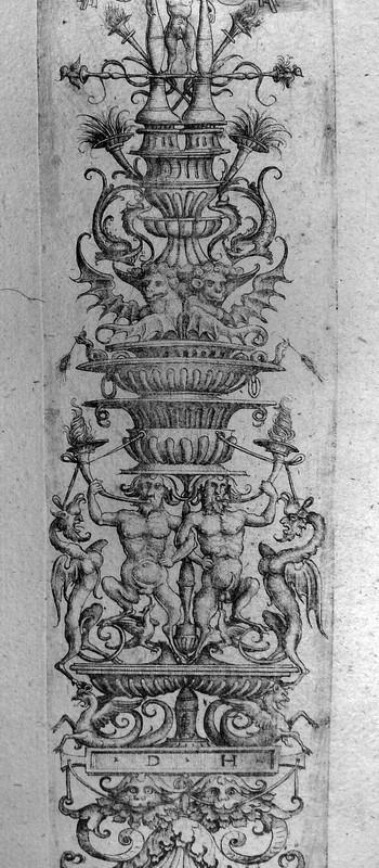 Hopfer D; Pannello ornamentale - 350