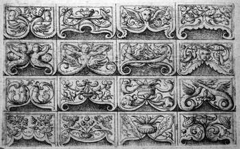 Hopfer D; Diversi ornamenti - 350