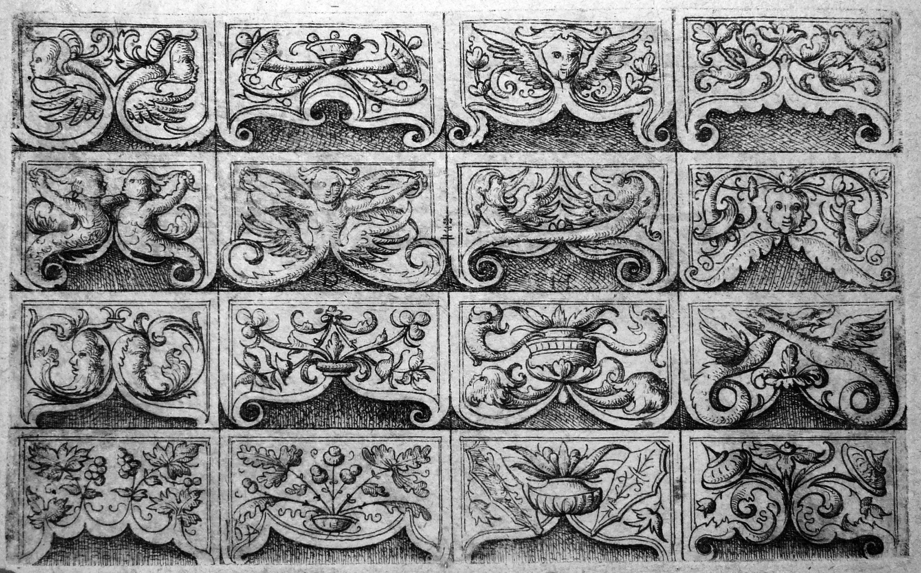Hopfer D; Diversi ornamenti