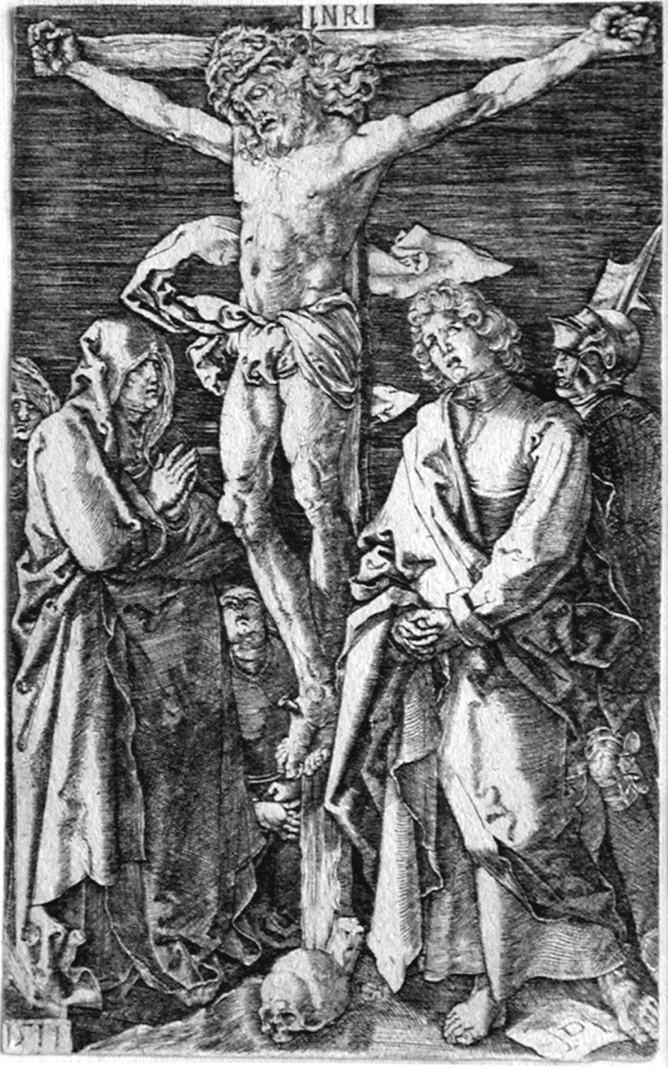 Durer A; La crocefissione