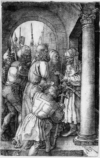 Durer A; Cristo davanti a Pilato - 350