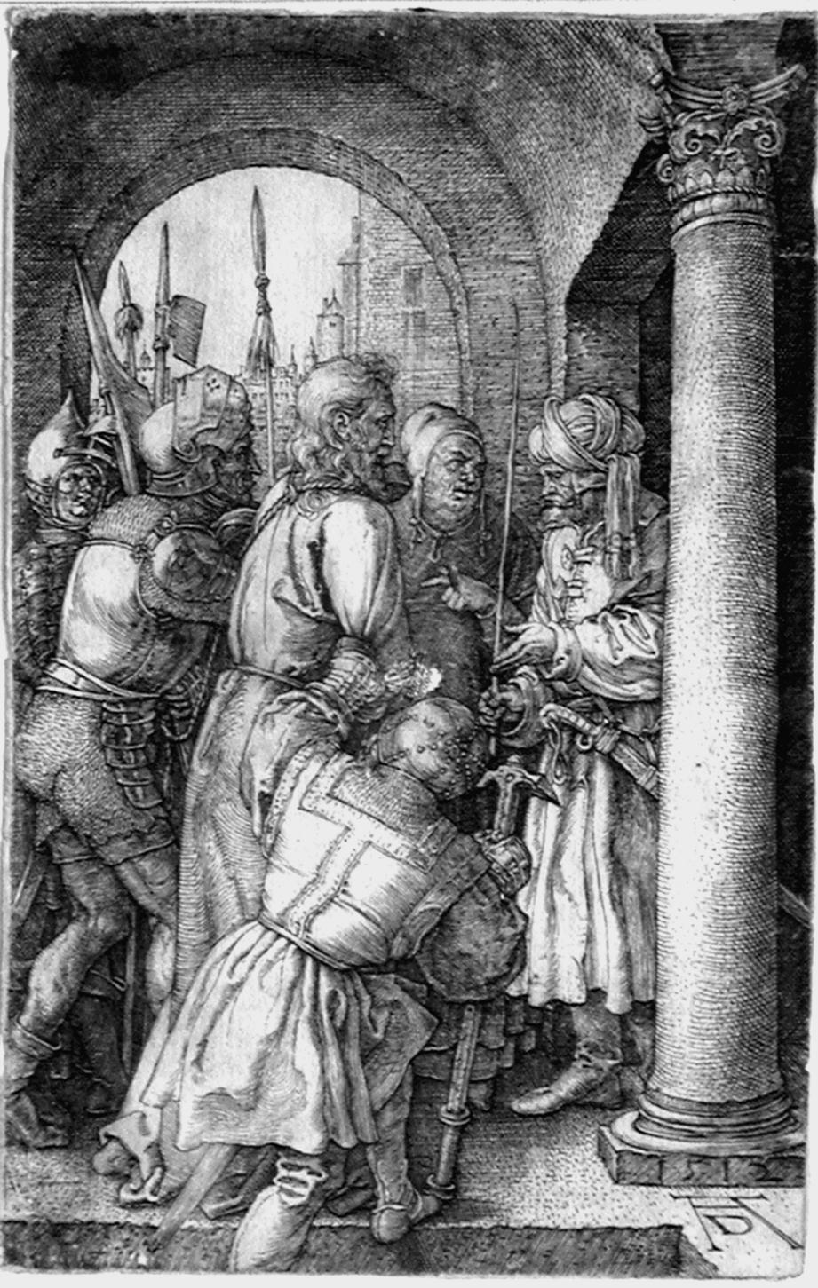 Durer A; Cristo davanti a Pilato