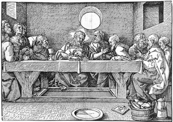 Scuola di A. Durer; Ultima cena - 350