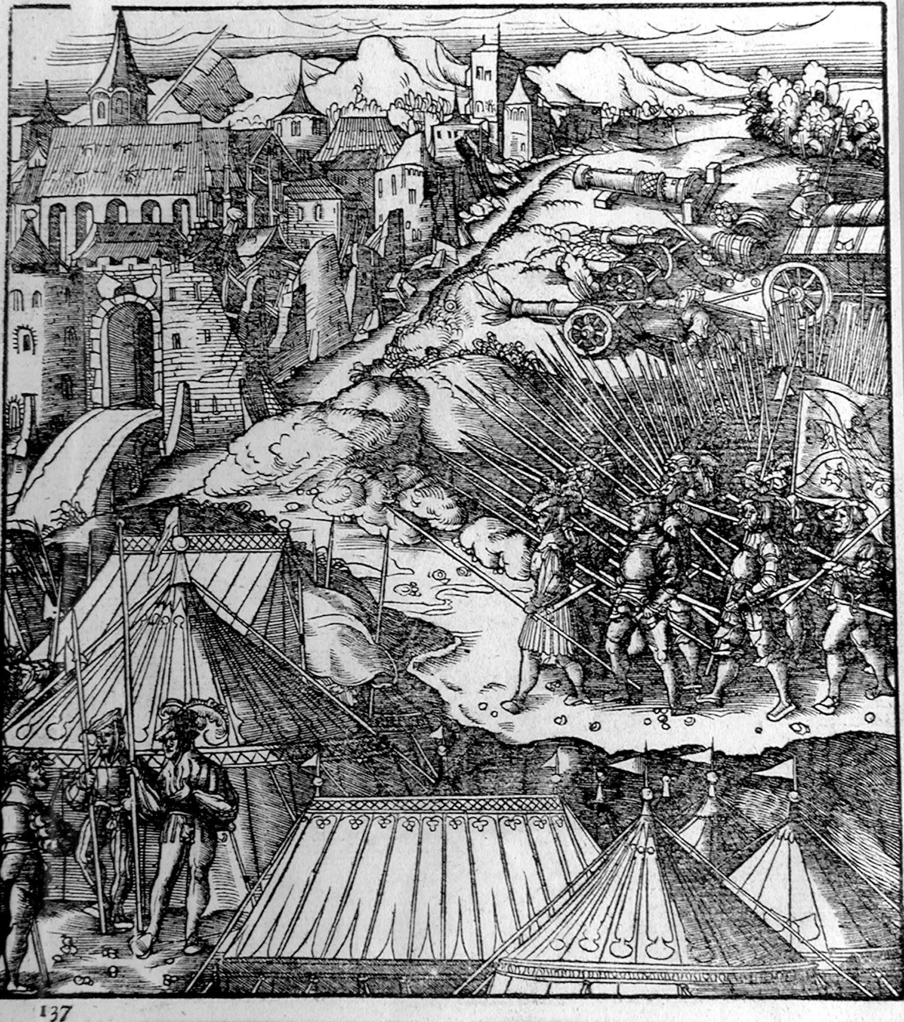 Beck L; L'assedio di Dijon