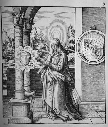 Beck L; Heilige Amalberga - 350