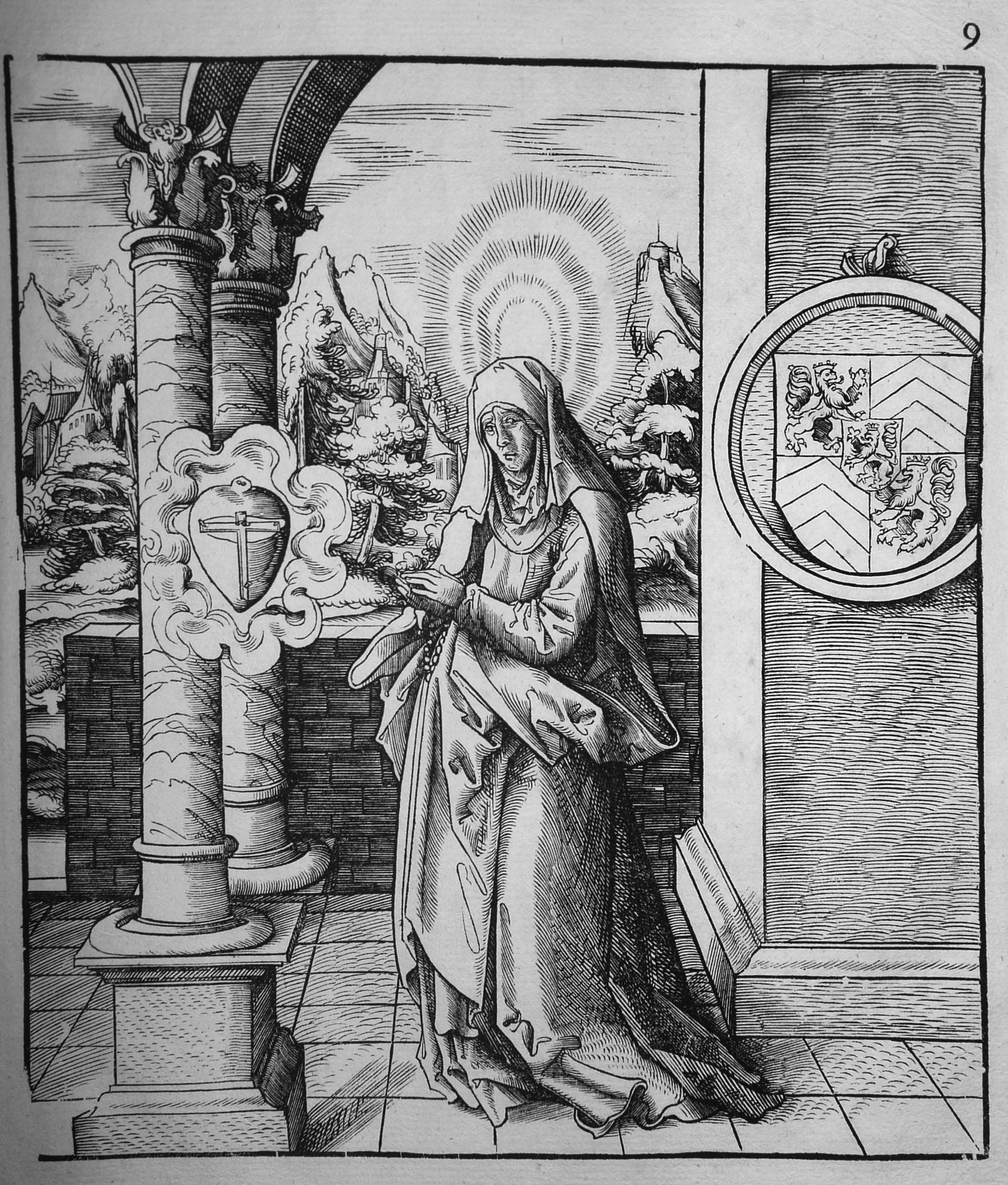 Beck L; Heilige Amalberga