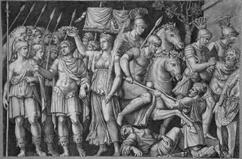 Raimondi M; Traiano incoronato dalla Vittoria - 350