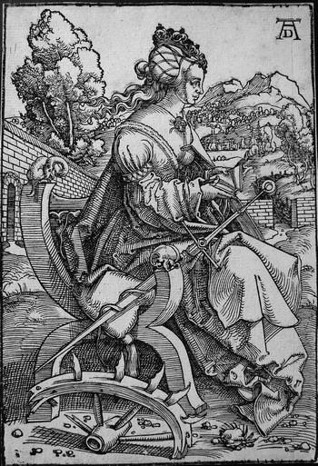 Baldung Grien H; Santa Caterina d'Alessandria - 350
