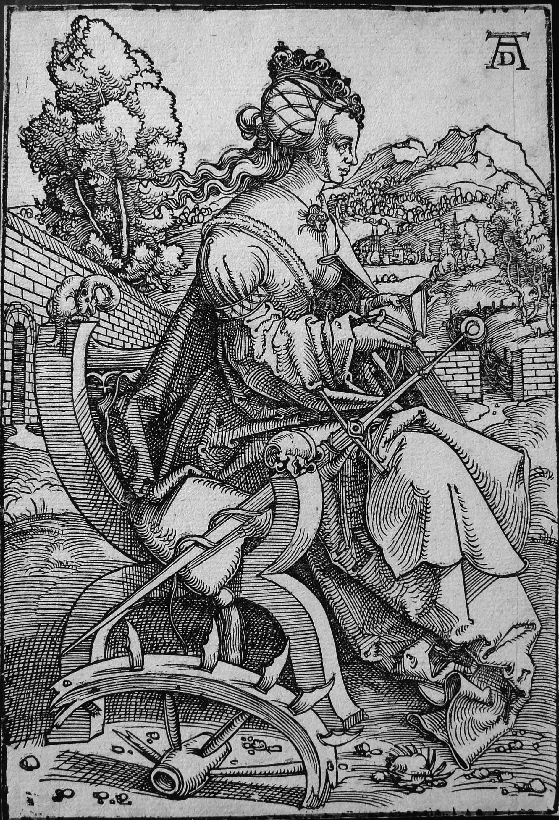 Baldung Grien H; Santa Caterina d'Alessandria