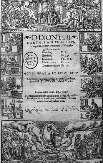 Woensam A; Dionysius Carthusiensis - 350