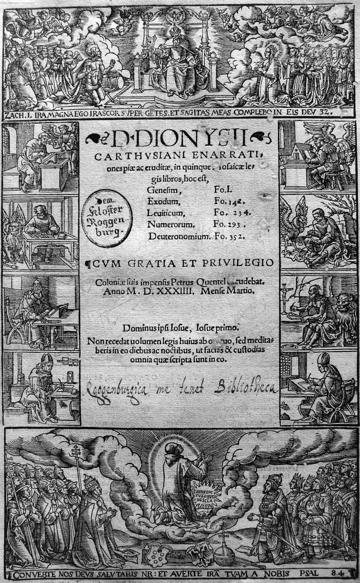 Woensam A; Dionysius Carthusiensis