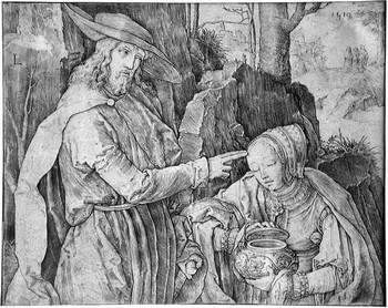 Van Leyden L; Cristo e la Maddalena - 350