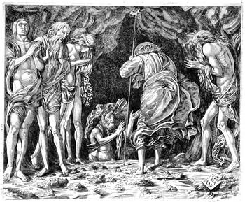 Anonimo da Mantegna; Discesa al Limbo - 350