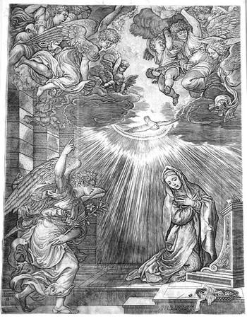 Caraglio G; Annunciazione - 350