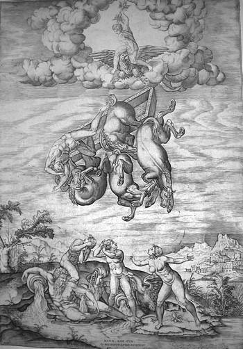 Beatricetto N; La caduta di Fetonte - 350