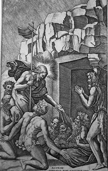 Beatricetto N; Cristo al Limbo - 350