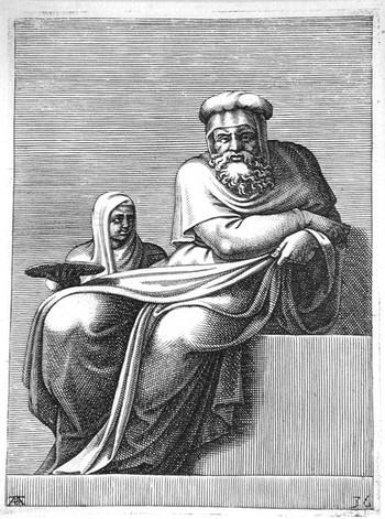 Scultori A; Iesse, David, Salomone - 350