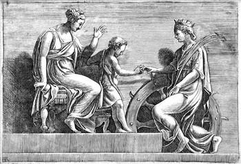 Scultori A; Matrimonio di S.ta Caterina - 350