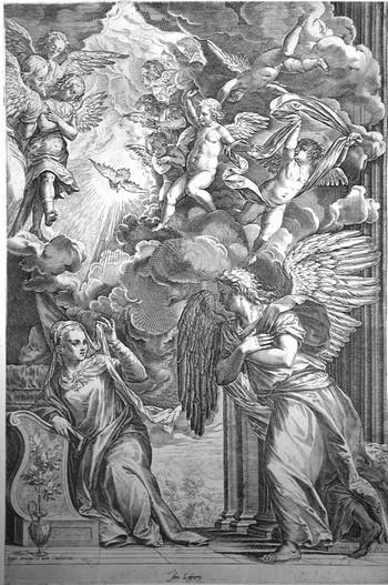 Cort C; Annunciazione - 350