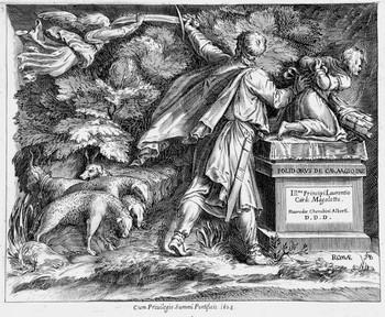 Alberti C; Sacrificio di Isacco - 350