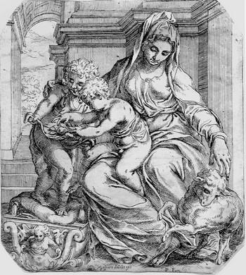 Farinati O; Madonna col Bambino - 350