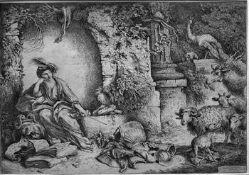 Castiglione GB; Circe e i compagni di Ulisse - 350