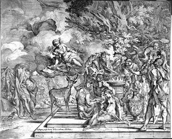 Testa P; Il sacrificio di Ifigenia - 350