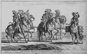 Eimmart GC; Cavalieri con trombe e timpani - 350