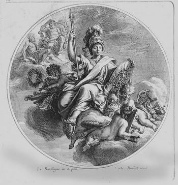 Baudet E; Minerva ; allegoria della sapienza e dell'arte - 350