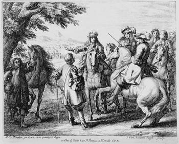 Van Huchtenburg J; Il dispiegamento della cavalleria - 350