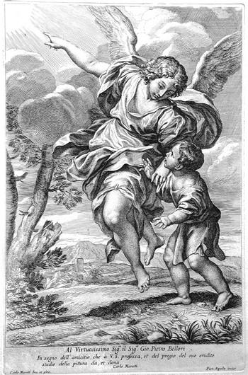 Aquila P; L'angelo custode - 350