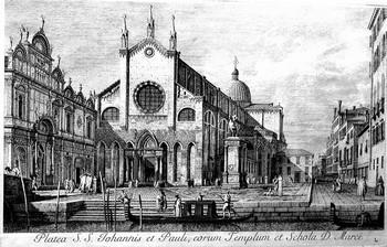 Visentini A; Platea dei SS. Giovanni e Paolo - 350