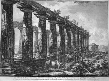 Piranesi F; Temple de Junon - 350