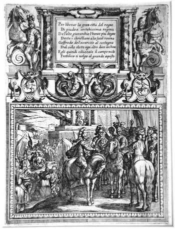 Tempesta A; La Gerusalemme Liberata, ( I ) - 350