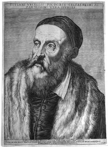 Carracci Ag; Ritratto di Tiziano - 350