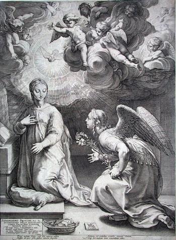 Goltzius H; Annunciazione - 350