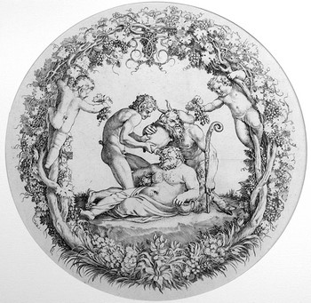 Carracci Ann; La Tazza Farnese - 350