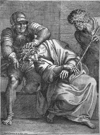 Carracci Ann; La coronazione di spine - 350