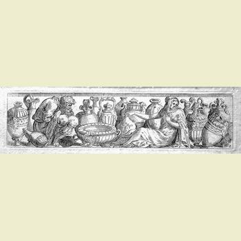 143 Fialetti O;  Figure con vasi - 350-2