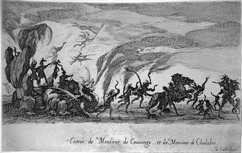 Callot J; Entrée de MM de Couvonge et de Chalabre - 350