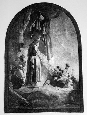 Rembrandt La resurrezione di Lazzaro - 350