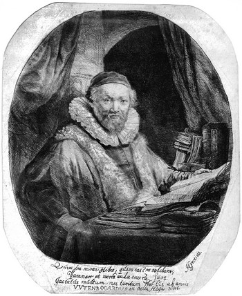 Rembrandt; J. Uytenbogaert (Predicatore Arminiano) - 350