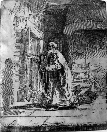 Rembrandt; La cecità di Tobia - 350