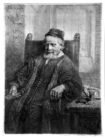 Rembrandt Jan Lutma (l'orefice) - 350