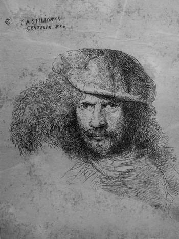 Castiglione GB; Presunto ritratto del Bernini - 350