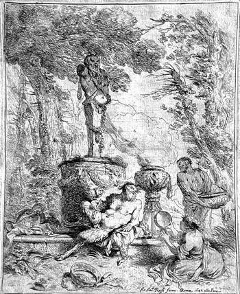 Castiglione GB; Baccanale davanti al dio Termine - 350