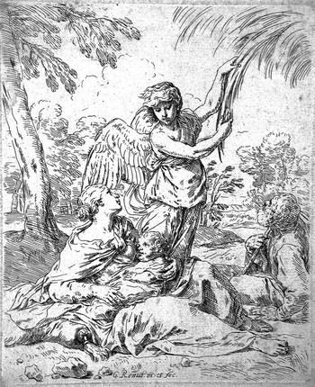 Cantarini S; Riposo in Egitto (2) - 350